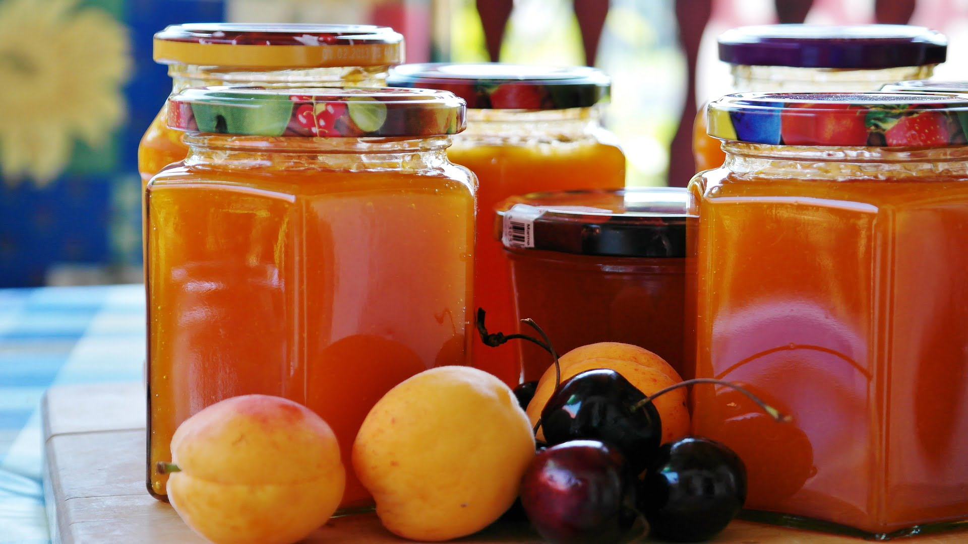 Jam Jars and Food jars