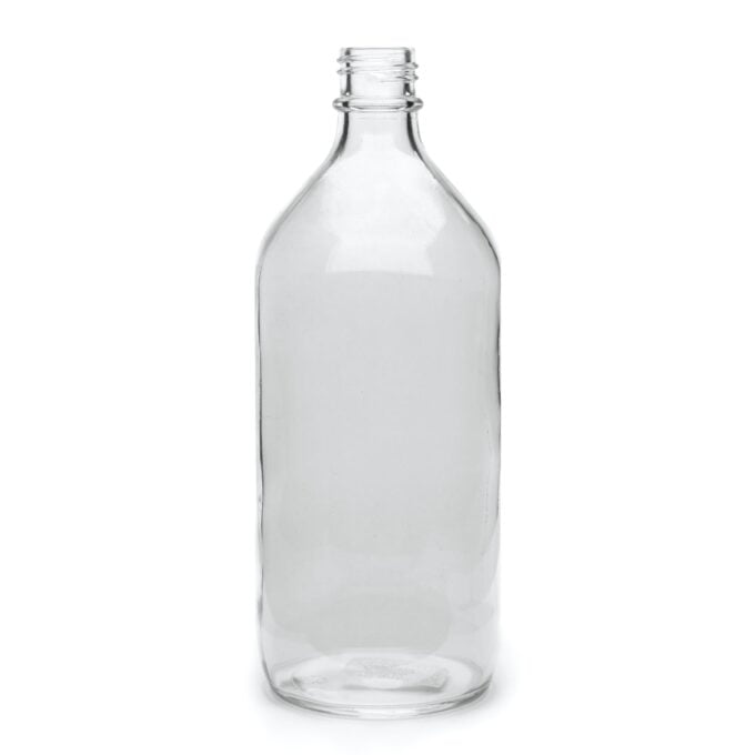 Clear Winchester Bottle 1L
