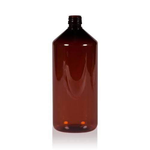 Amber PET bottle 1L