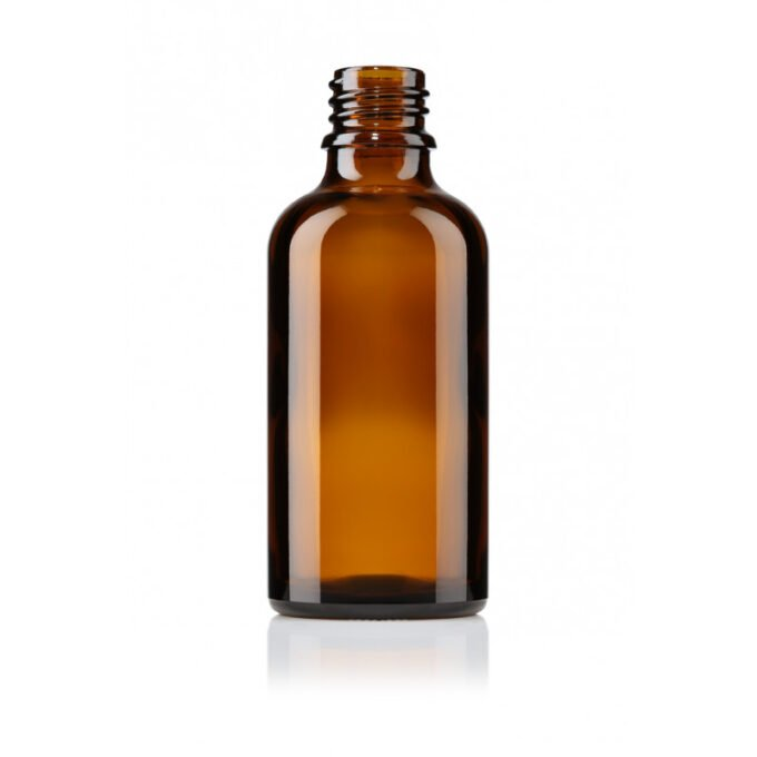 Amber Glass Dropper Bottle 100ml