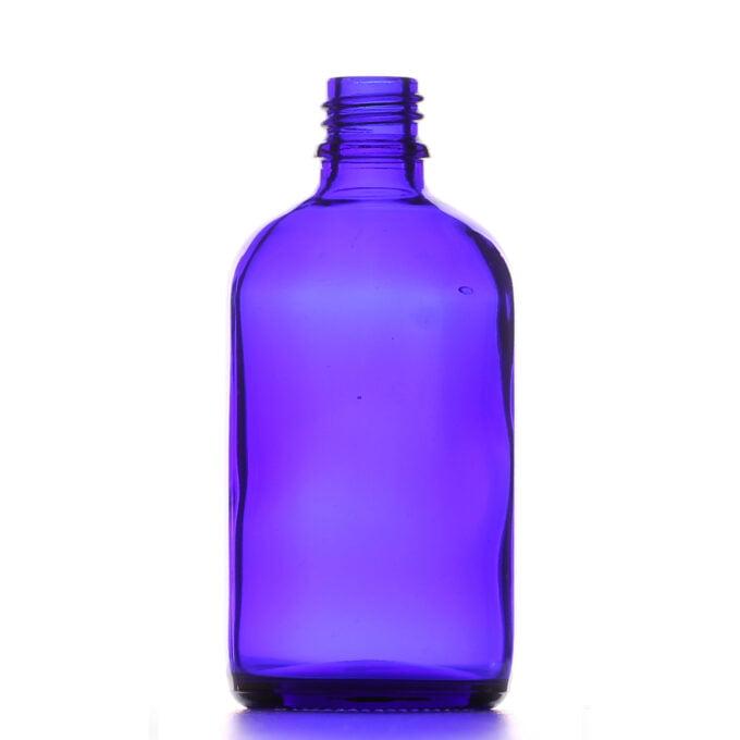 Blue Glass Dropper Bottle 100ml