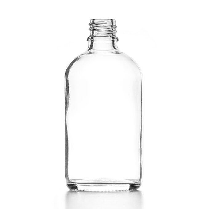 Clear Glass Dropper Bottle 100ml