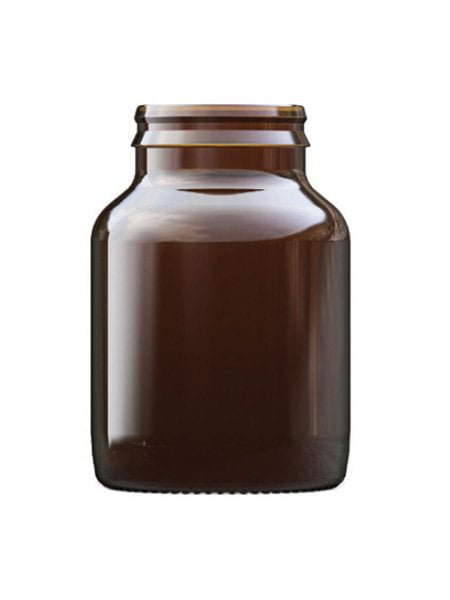 Amber Glass Tablet Bottle 100ml