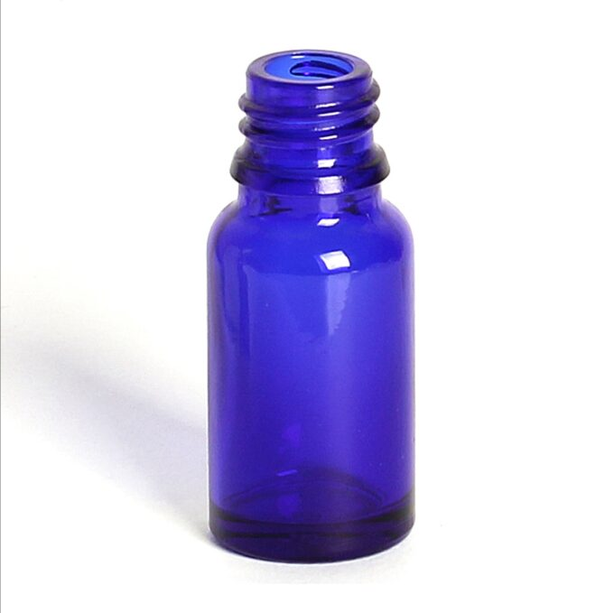 Blue Glass Dropper Bottle 10ml