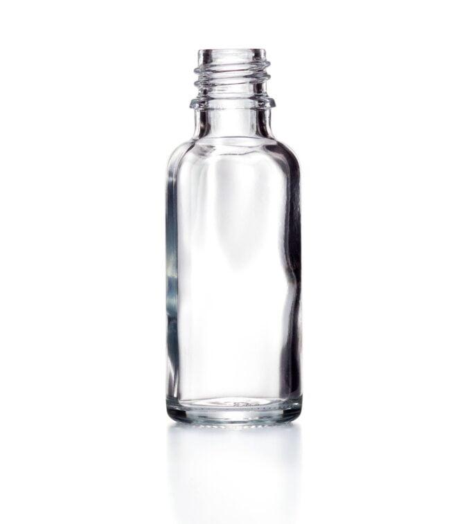 Clear Glass Dropper Bottle 10ml