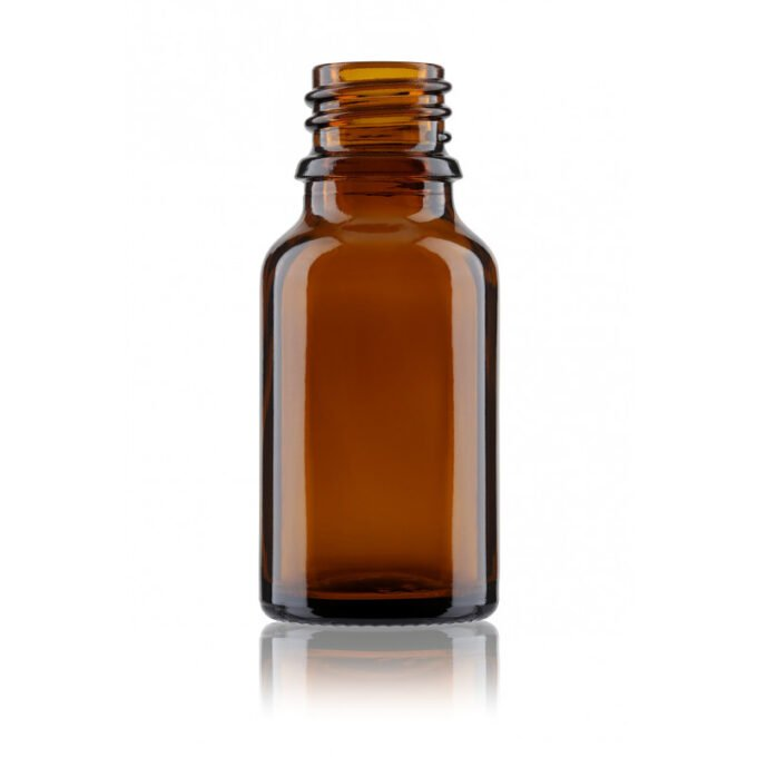 Amber Glass Dropper Bottle 15ml