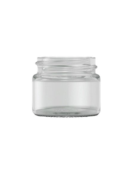 Clear Glass cream jar 15ml