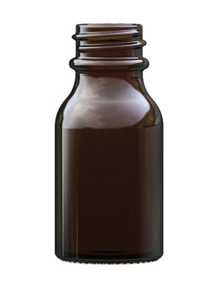 Amber Glass Winchester Bottle 15ml