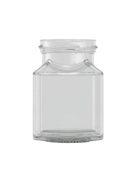 square jar 200ml