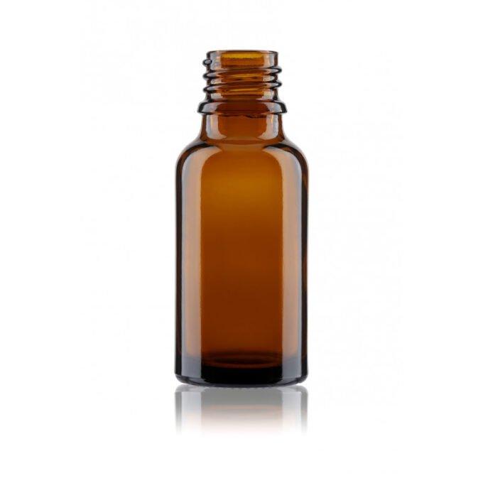 Amber Glass Dropper Bottle 20ml