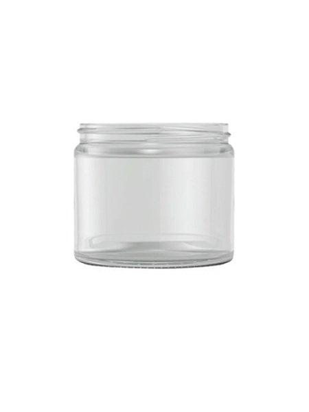 Clear Glass cream jar 250ml