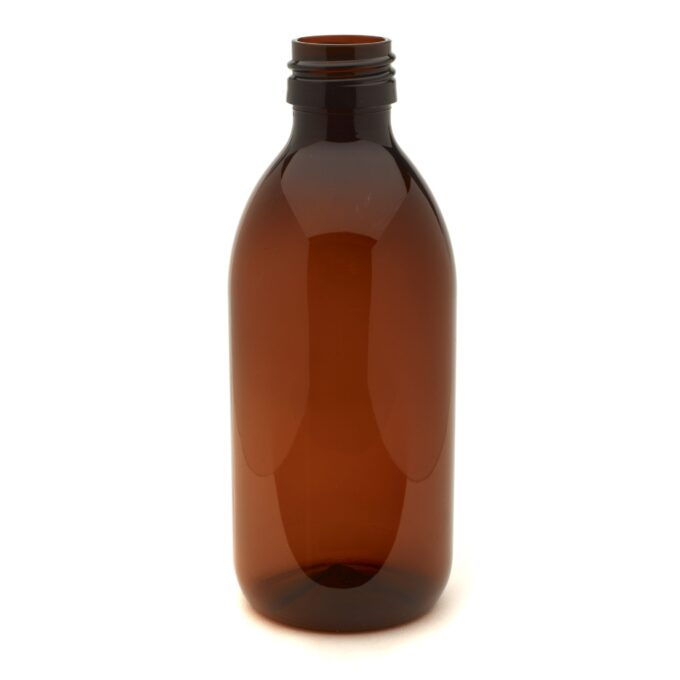 Amber PET Bottle 250ml