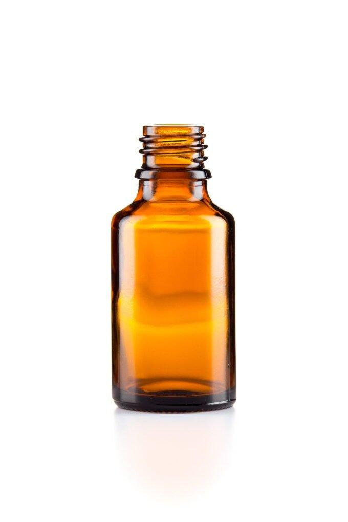 Amber Glass Dropper Bottle 25ml
