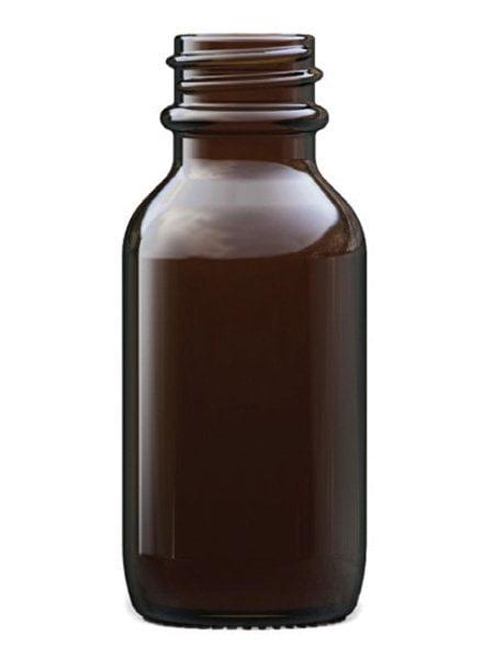 Amber Glass Winchester Bottle 25ml