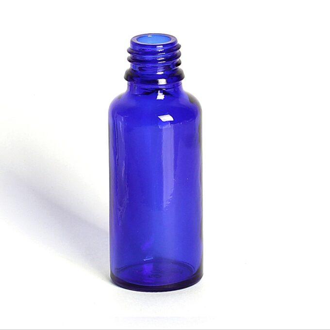 Blue Glass Dropper Bottle 30ml