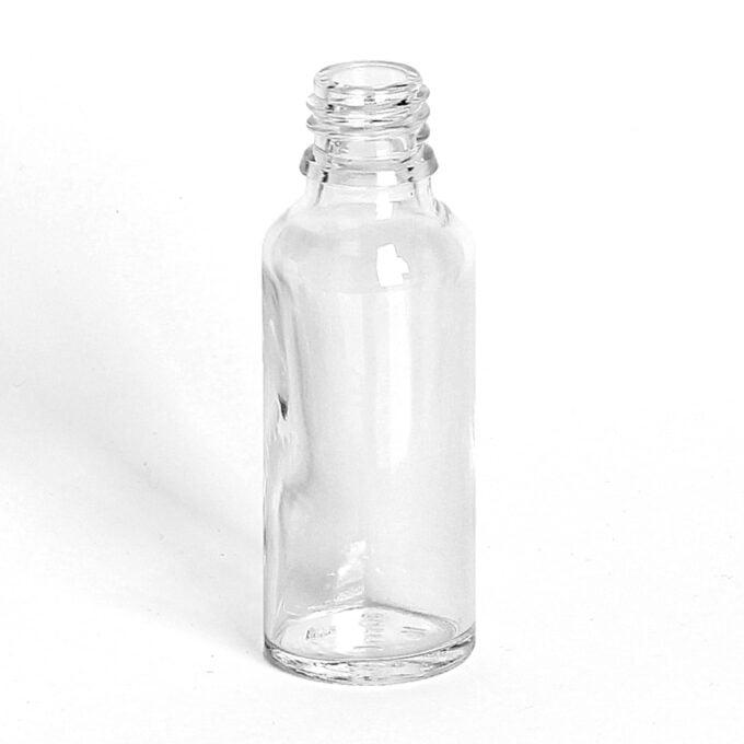 Clear Glass Dropper Bottle 30ml