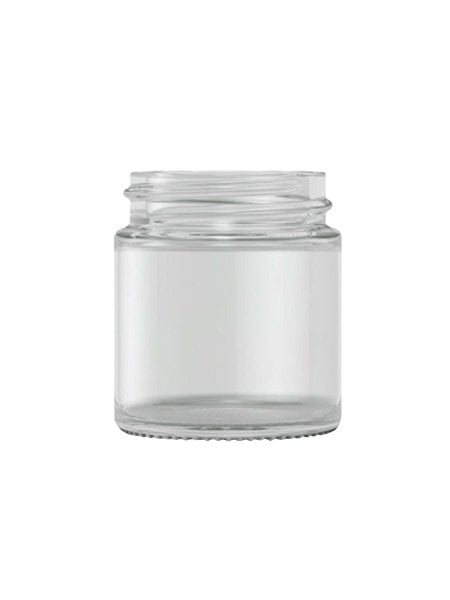 Clear Glass Cream Jar 30ml