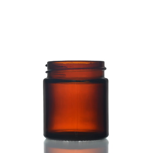 Amber Glas jar 30ml