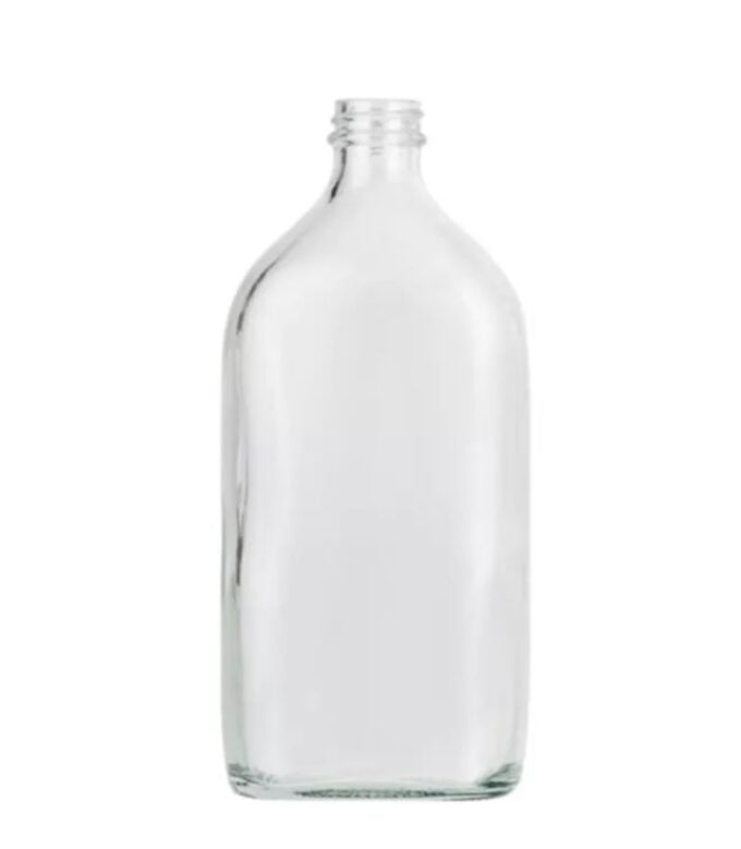 Clear Glass Sloping Shoulder 500ml