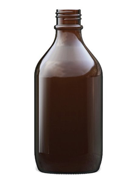 Amber Glass Winchester Bottle 500ml