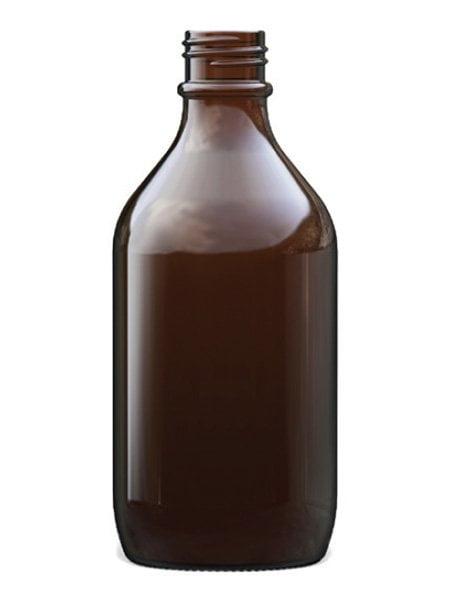 Amber Glass Winchester Bottle 500ml