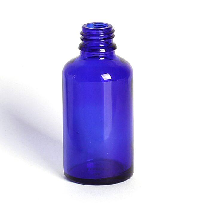 Blue Glass Dropper Bottle 50ml