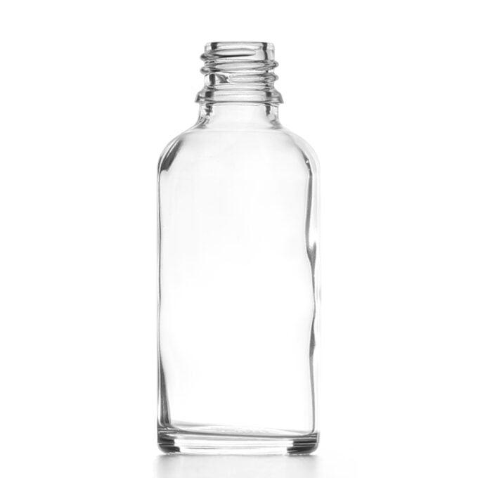 Clear Glass Dropper Bottle 50ml