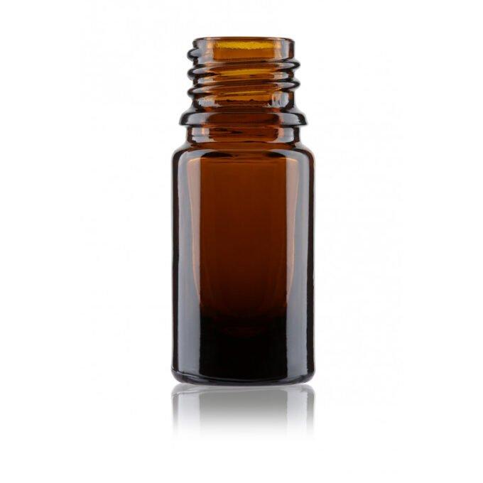 Amber glass dropper bottle 5ml