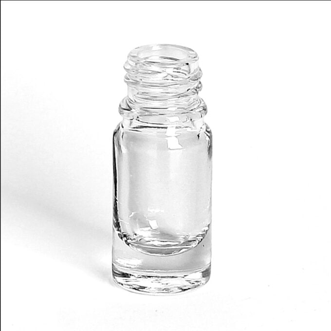 Clear Glass Dropper Bottle 5ml