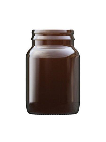 Amber glass tablet bottle 60ml