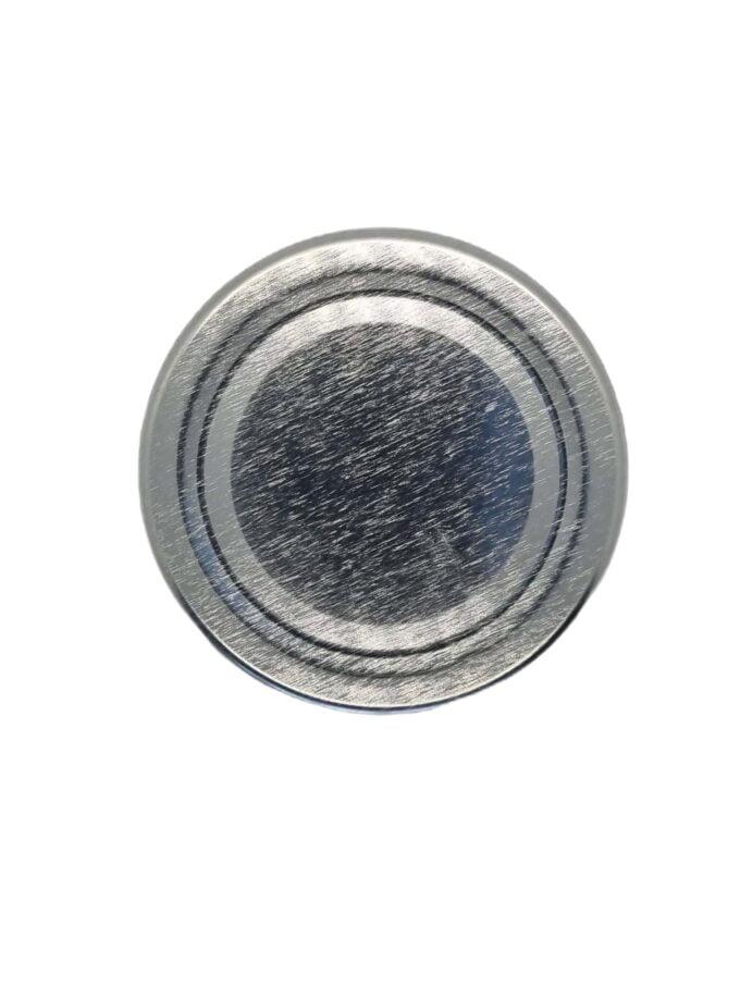 Food Jar Lid Silver