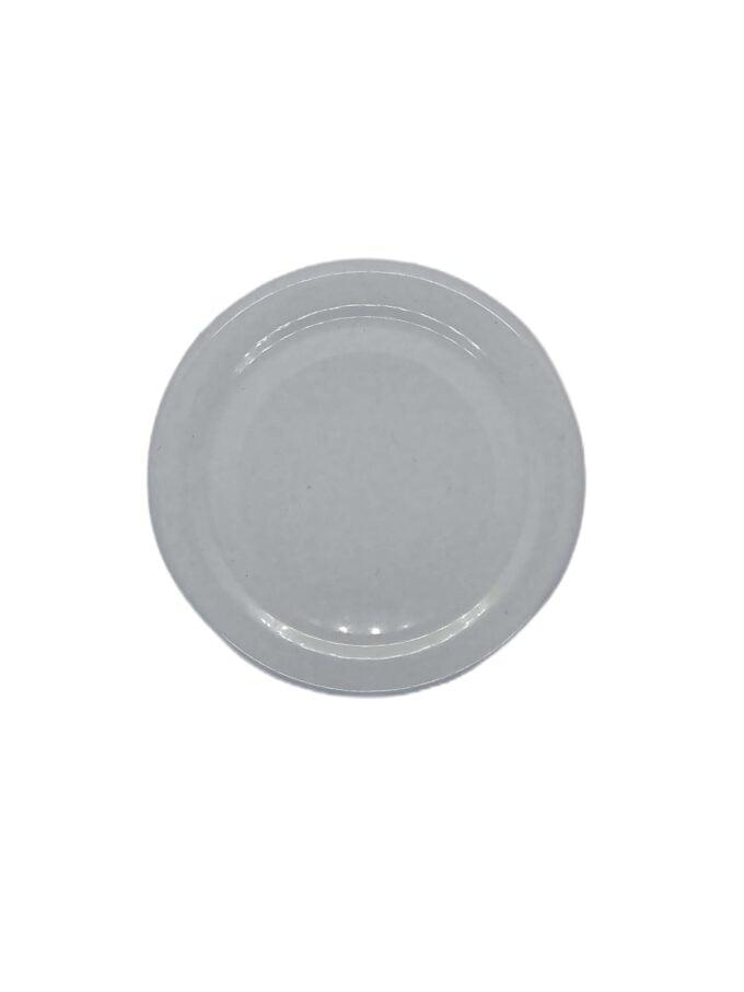 Food jar lid white