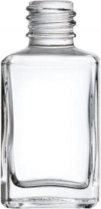 Cuboid Bottle Clear Glass 30ml