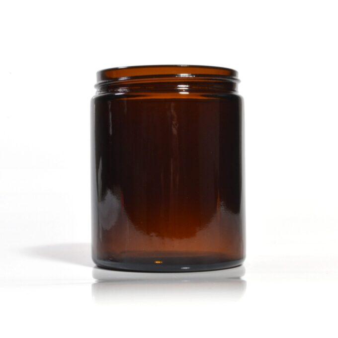 maber glass cream jar 180ml