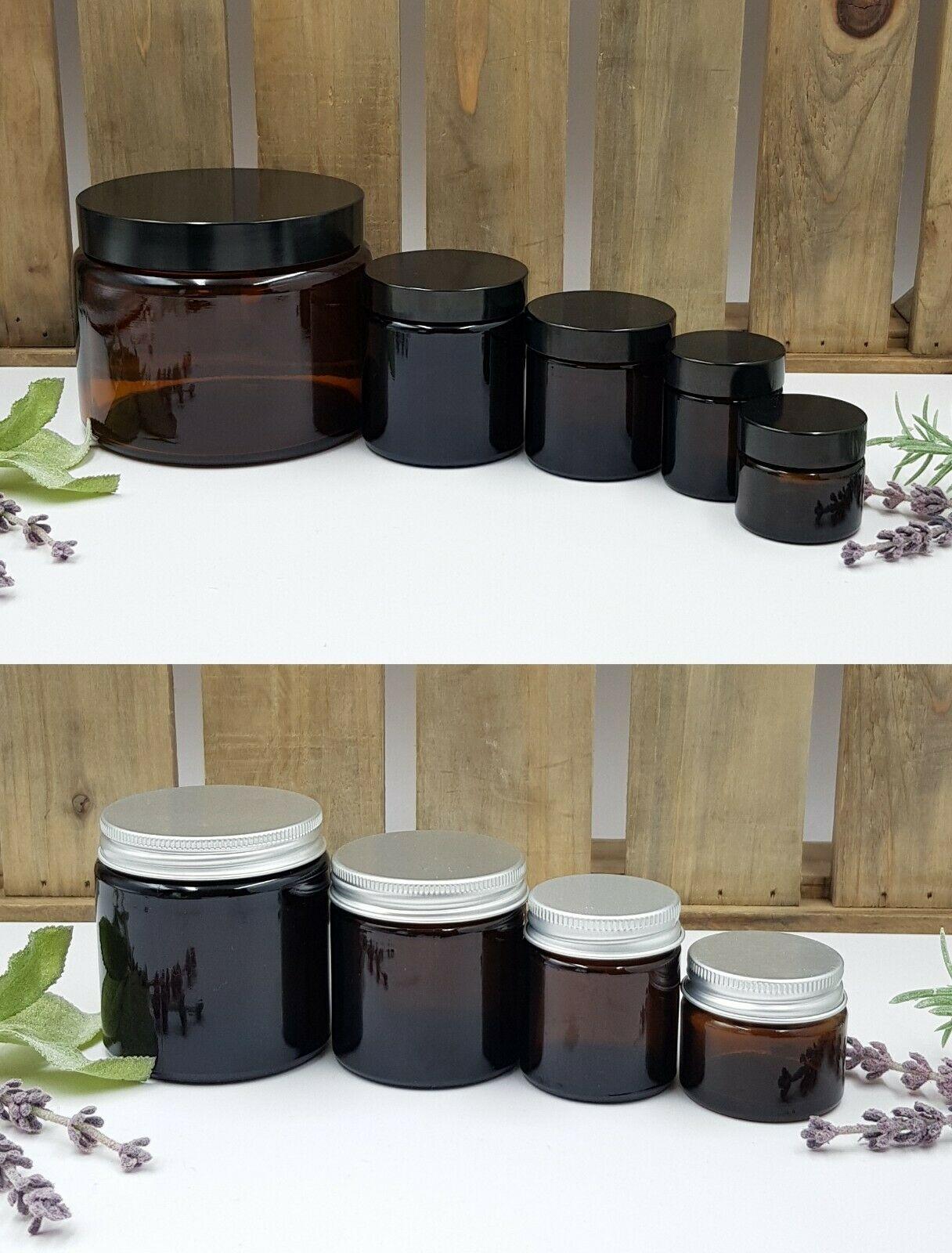 Glass Jars (Creams & Candles)