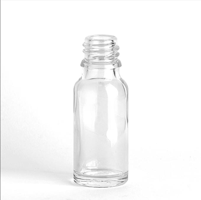 Clear Glass dropper bottle